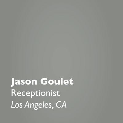 Jason Goulet